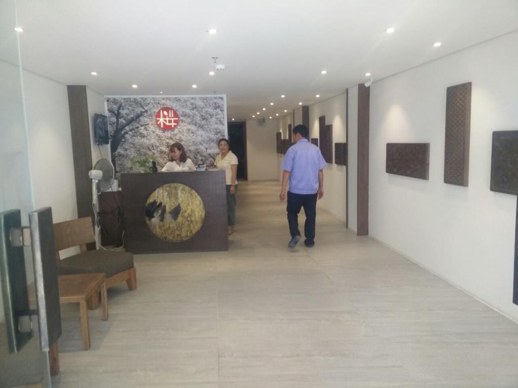 Cho thuê Văn Phòng DT 40m2  phố Trương Hán Siêu, quận Hoàn Kiếm giá chỉ 13 triệu phù hợp làm VP. LH.0866683628