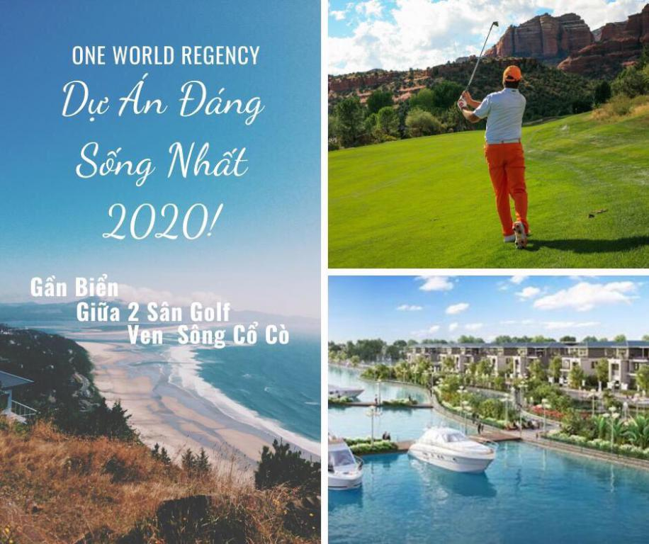 Bán lô đất biển Đà Nẵng 2 mặt tiền dự án One World Regency