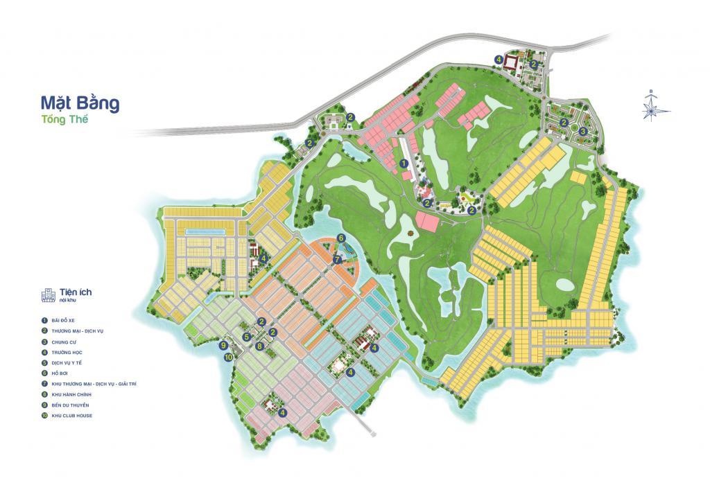 Bán nền MA1.06.10 dự án Biên Hòa New City đã nhận nền, kt 5m x 19m,