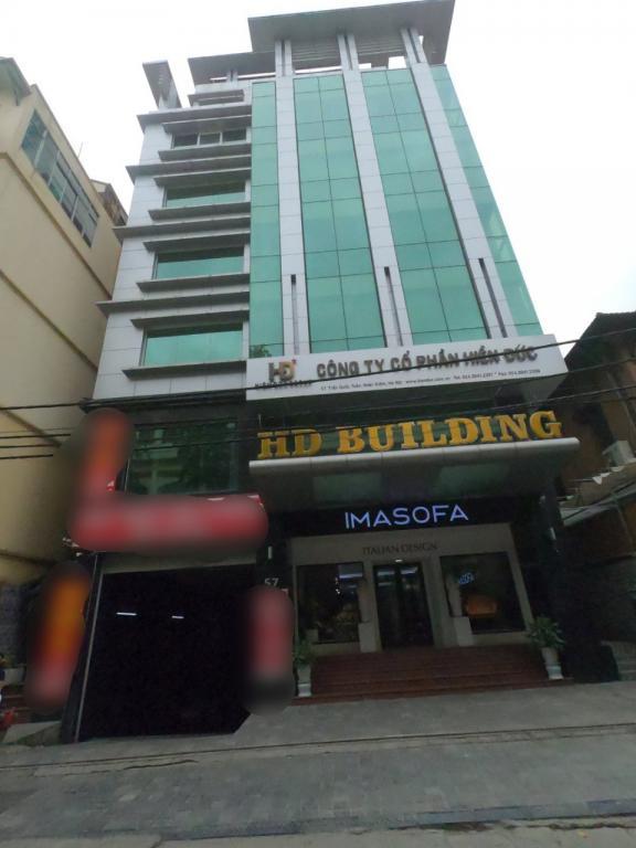 Cho thuê MBKD, văn phòng Tại Tòa nhà HD Building Trần Quốc Toản, Hoàn Kiếm, HN. LH 0968530776