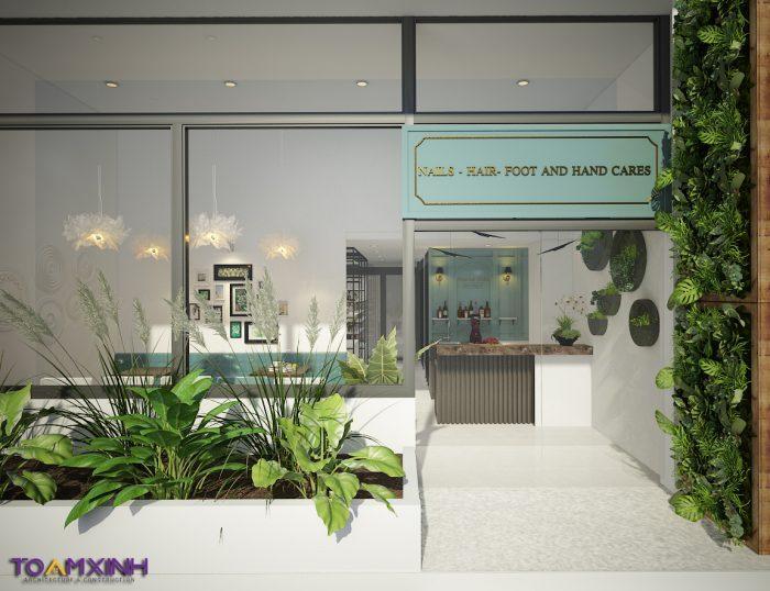 Thiết kế Spa – Chị Thủy – Thảo Điền