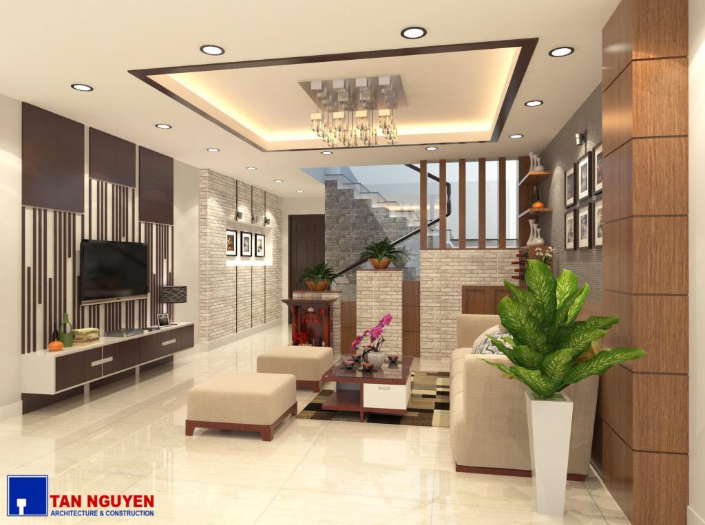 Thiết kế nội thất nhà phố – Anh Phương ( Gò Vấp )