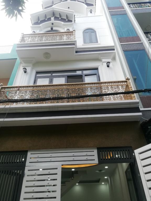 Nhà mới xây 5 tầng, HXH tránh, Gò Dầu, Tân Phú. 6 tỷ