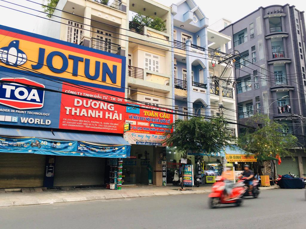 Nhà mặt tiền Phạm Văn Bạch. Đường rộng. Tiện kinh doanh. 12,9 tỷ