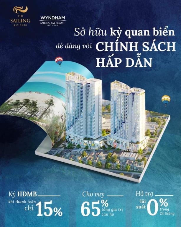 Ra mắt căn hộ Trung Tâm thành phố biển - The Sailing Quy Nhơn