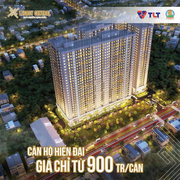 Căn hộ Legacy Central Thuận An Bình Dương chỉ từ 900 triệu