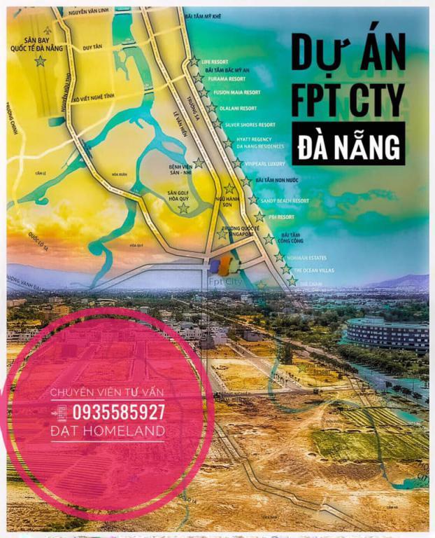 Cần bán gấp Lô đất thuộc suất ngoại giao dự án FPT CITY