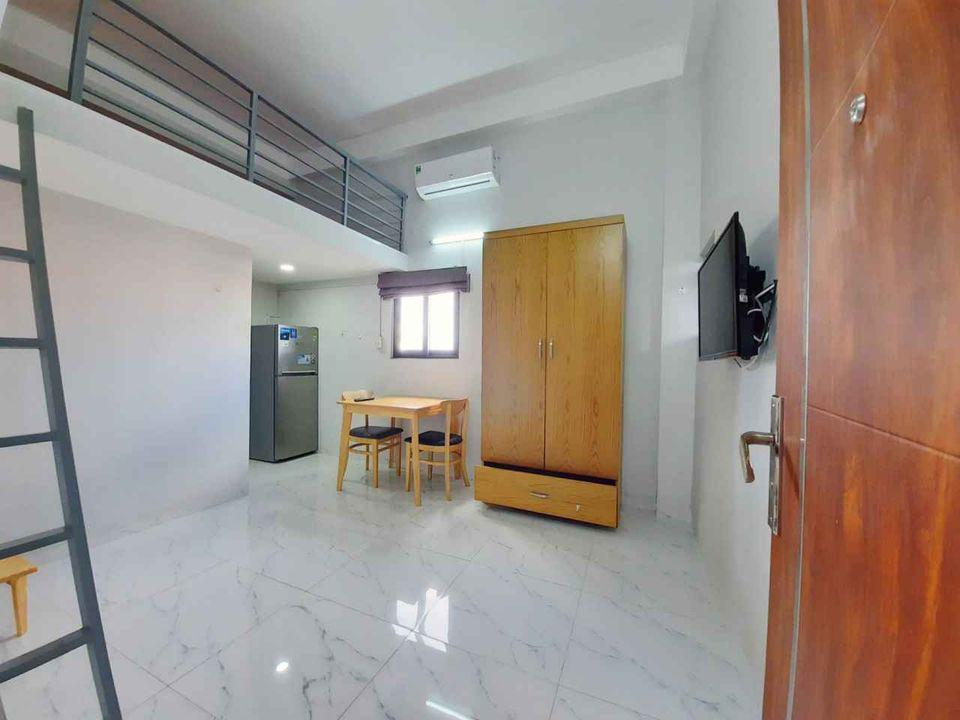 Căn hộ mini Duplex siêu rộng rãi, có ban công thoáng mát