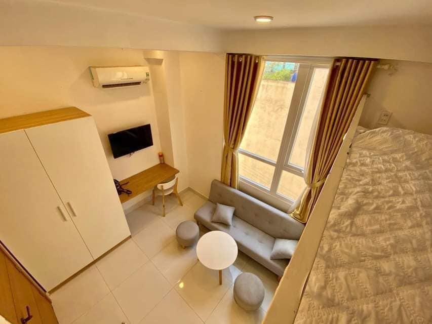 Cho thuê căn hộ mini đầy đủ nội thất mới, cư dân lịch sự, có bảo vệ