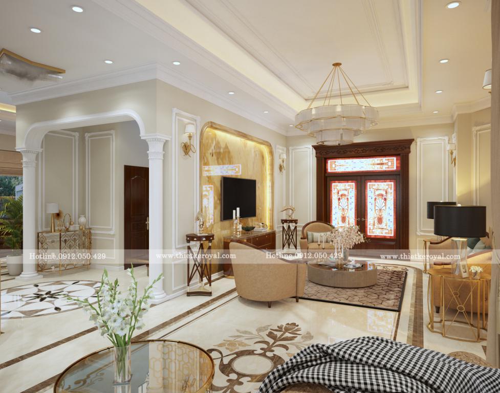 Thiết kế Nội thất biệt thự 3 Tầng / 150 m2- Vinhomes Harmony Long Biên !