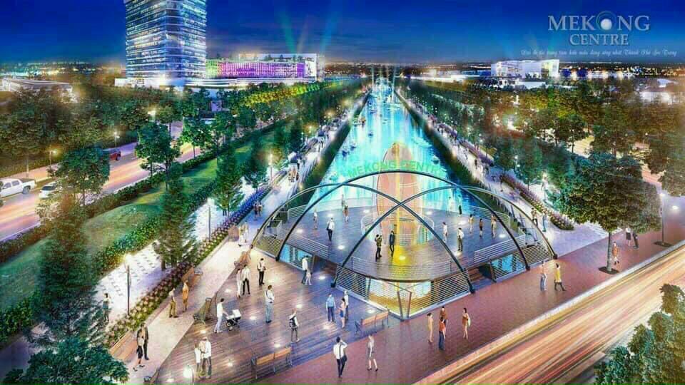 HOT Dự án khu đô thị Mekong Centre mở bán giai đoạn mới giá đầu tư chỉ 12tr3/m2