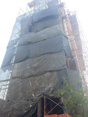 Sang nhượng khách sạn đã xây xong phần thô KDC Trung Sơn