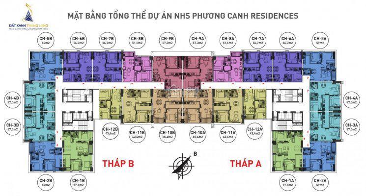 Cần bán lại căn hộ chung cư NHS Phương Canh tầng 1110, DT 65m2 giá bán 1 tỷ 250/ căn: 0936071228