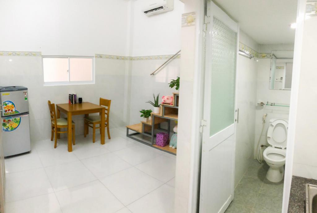 Cho thuê căn hộ dịch vụ có gác full nội thất giá sinh viên an ninh tốt quận tân bình