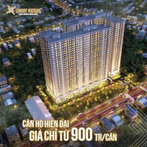 Legacy Central toạ lạc ngay trung tâm thành phố Thuận An (Bình Dương), chỉ từ 900 triệu/căn