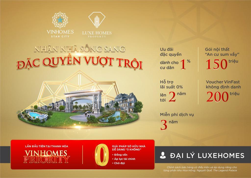 Sôi Động Cùng EURO Mua Nhà Vinhomes giá rẻ 7 tỷ hơn.122,5 m2 tại Vinhomes Thanh Hóa