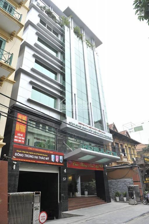 Cho thuê văn phòng, MBKD mặt phố Trần Quốc Toản, Hoàn Kiếm diện tích 95m2 giá 55tr/tháng