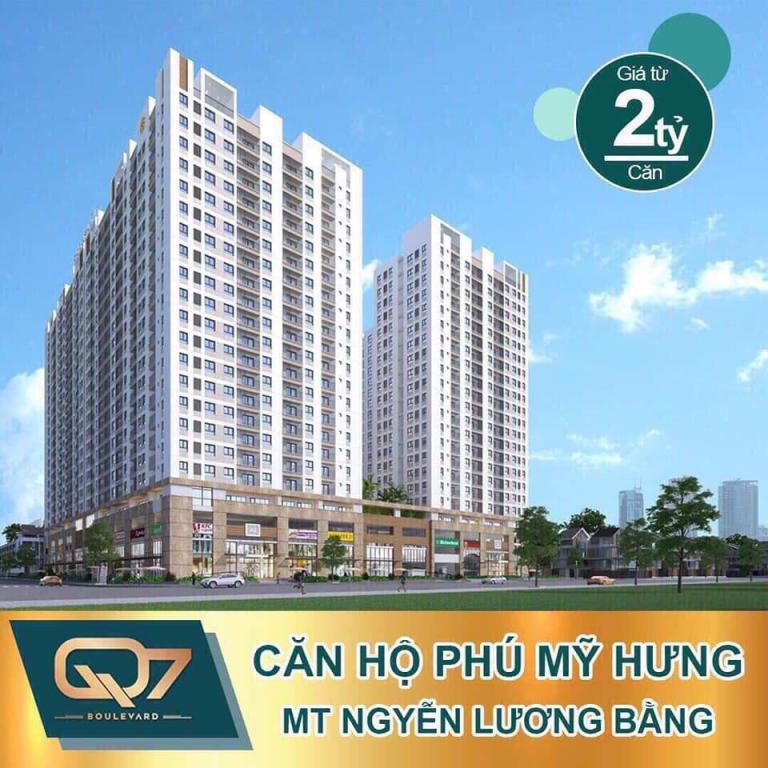 Bán căn hộ Quận 7 (Q7 Boulevard) - Thành phố Hồ Chí Minh giá 2.3 tỷ, nhận nhà ở ngay 2020