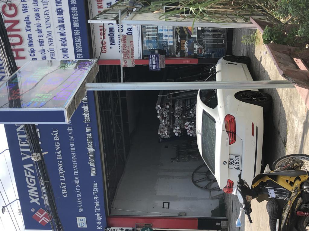 Cho thuê Mặt Bằng 10x60m Nguyễn Tất Thành cách điện máy Chợ Lớn 200m TP Cà Mau