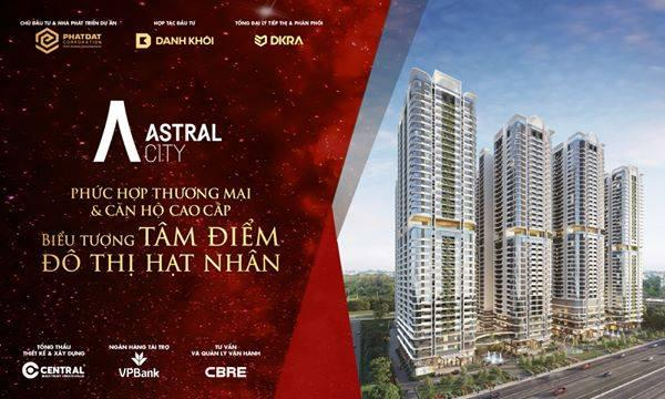 Astral City nằm trong top những căn hộ cao cấp tại Bình Dương không mua phí cả đời