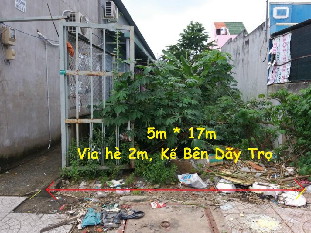 Đất bao ĐẦU TƯ, 85m2 đường Đặng Văn Bi, Bình Thọ/giá chỉ 2.86 TỶ/SR