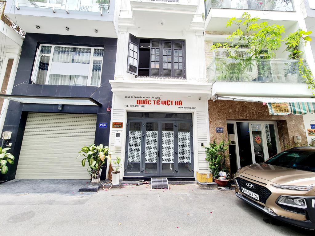 - Nhà bán khu Hoàng Quốc Việt, Q.7, 4mx12,5m, 2 lầu, ST, Giá 6,85 tỷ  LH:0911779116