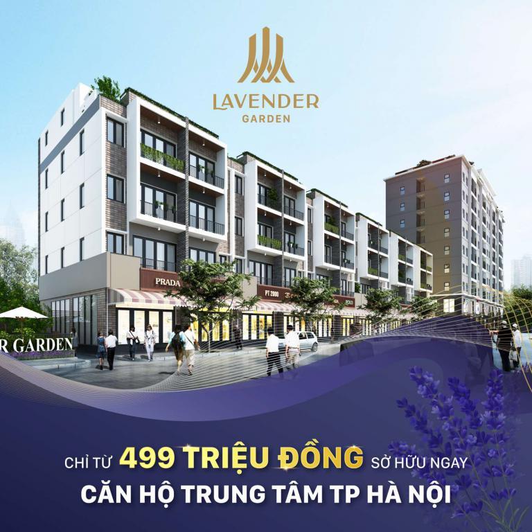 Ra mắt căn hộ 1,5 tỷ ngay 176 Định Công, Lavender Garden