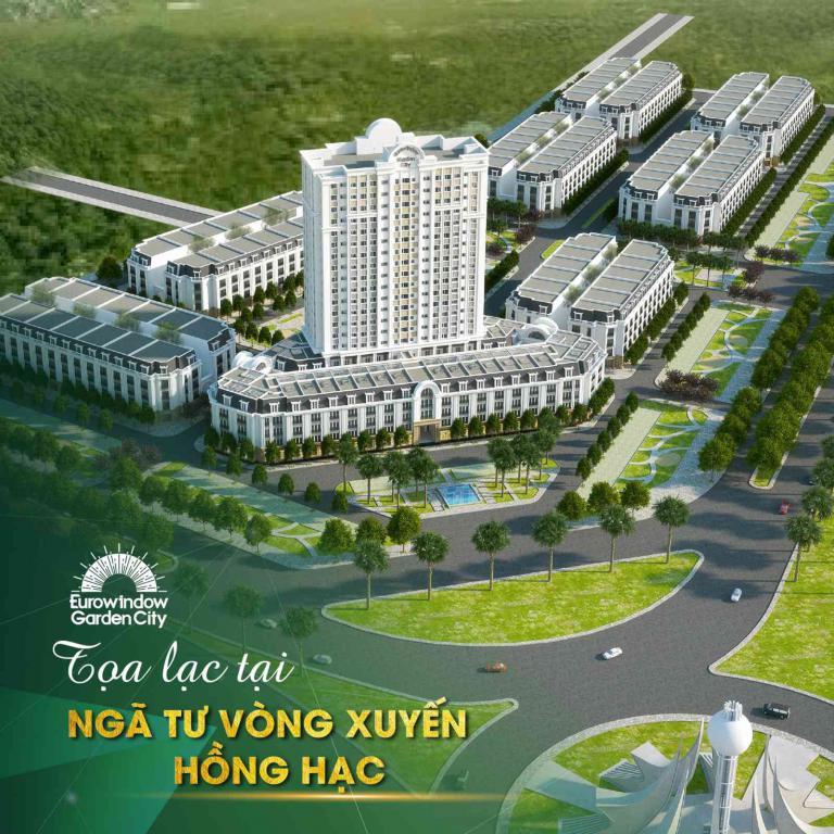 Cần bán căn nhà phố Eurowindow Garden City Thành phố Thanh Hóa