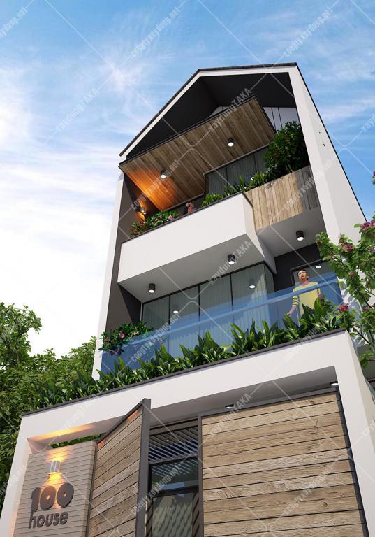 Mẫu thiết kế nhà phố hiện đại 2019 - 2020 đẹp