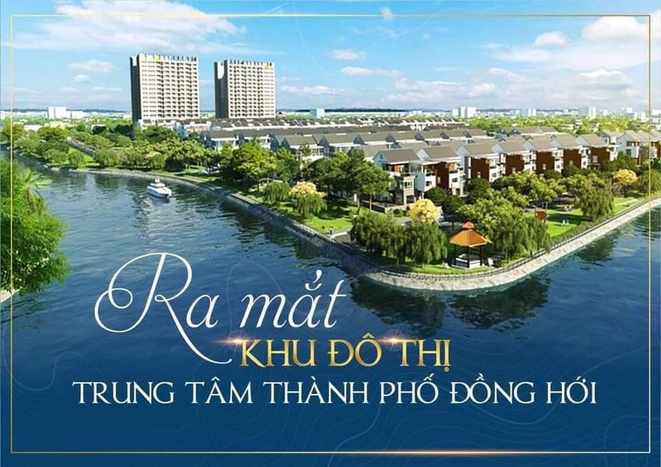 Sở hữu ngay Biệt Thự phố hoa nằm giữa trung tâm Tp Đồng Hới.