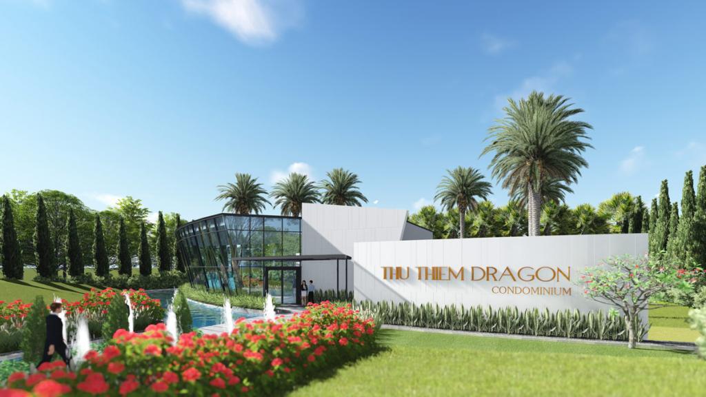 Bán dự án căn hộ Dragon Thủ Thiêm nằm trong KDC Thủ Thiêm Villa , P. Thạnh Mỹ Lợi Quận 2