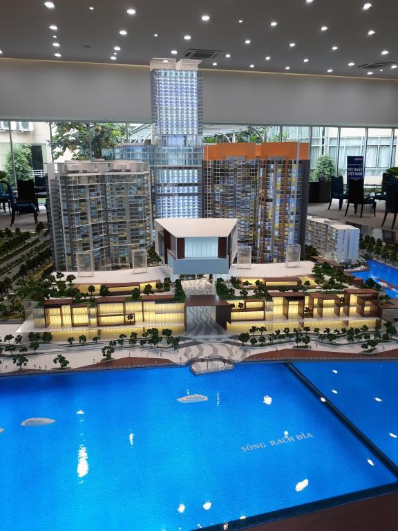 Dự án căn hộ cao cấp : Kenton Node , tổ hợp đô thị kiểu mới New Town