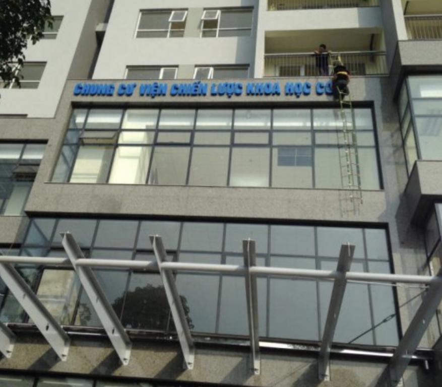 Tòa nhà Viện chiến lược và khoa học công an phố Tú Mỡ cho thuê văn phòng