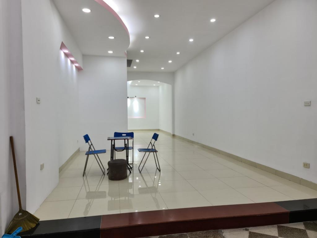 Cho thuê nhà riêng đường Nguyễn Ngọc Vũ, Cầu Giấy: DTSD 400m2, R 5.5m, giá 28tr (MTG).