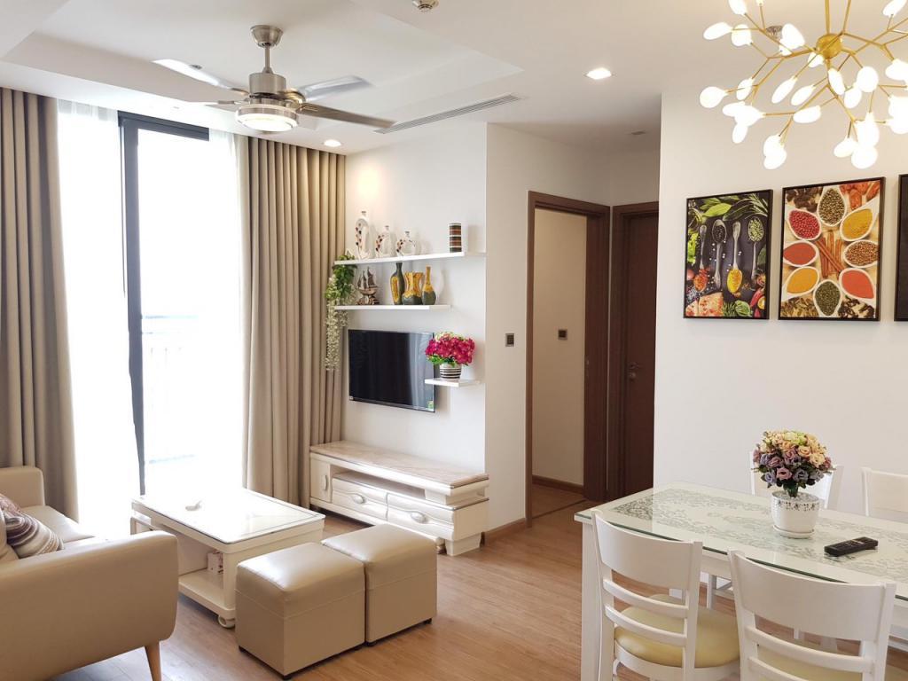 Cho thuê CH 2PN - 68m2 nội thất cao cấp giá cho thuê CH rẻ nhất Vinhomes Greenbay, LH: 0968714626