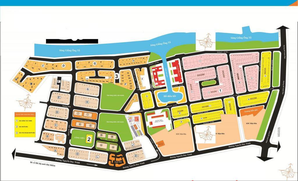 ⚜ Bán Đất Nền Biệt thự KDC Đông Thủ thiêm⚡Lô B53, dt: 8m x20m,sổ cty Thủ Thiêm.☎ O918860304
