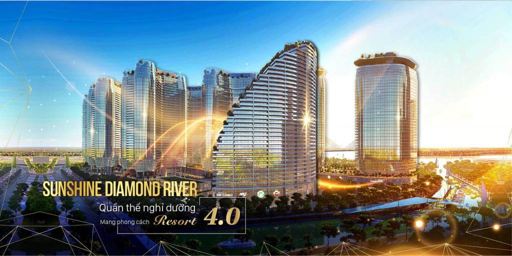 Dự án Sunshine Diamond River , Đào Trí Phú Thuận Quận 7 , liền kề phú mỹ hưng , view sông thoáng mát