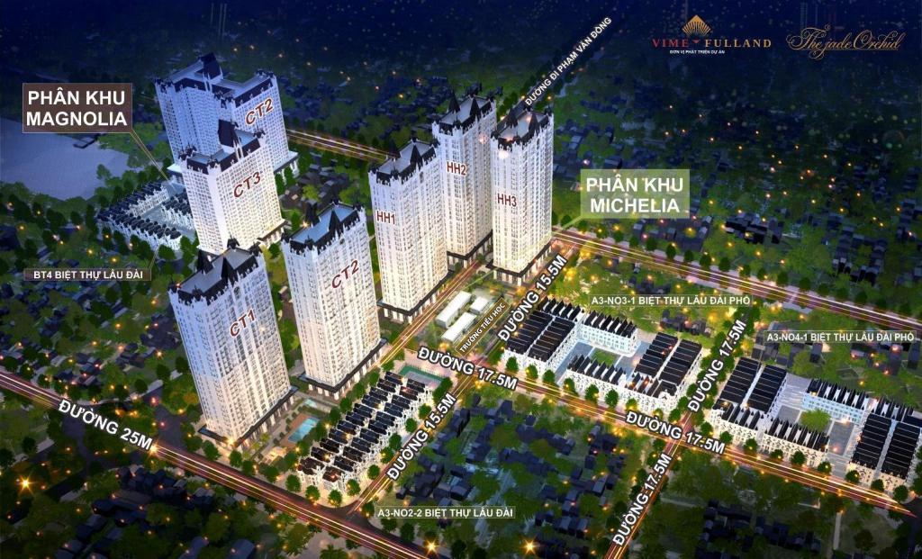 Chi tiết Chỉ với 2,6 tỷ sở hữu ngay căn hộ 2PN đẹp nhất tại dự án The Jade Orchid - Vimefulland Phạm Văn Đồng