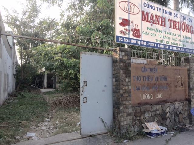Bán nhà xưởng mặt tiền đường lớn bình trị đông,quận Bình tân