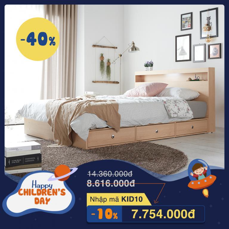 Các mẫu giường ngủ Hàn Quốc được ưa chuộng ở TP.HCM và Hà Nội