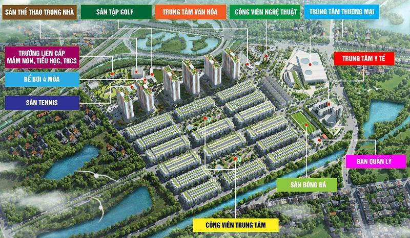 Him Lam Green Park, Lãi suất 0%/1.5 năm, hỗ trợ 80% giá trị. KĐT Kiểu Mẫu tại Bắc Ninh