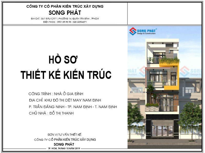 Thiết kế nhà phố 1 trệt 3 lầu 5 x 15 đẹp mắt
