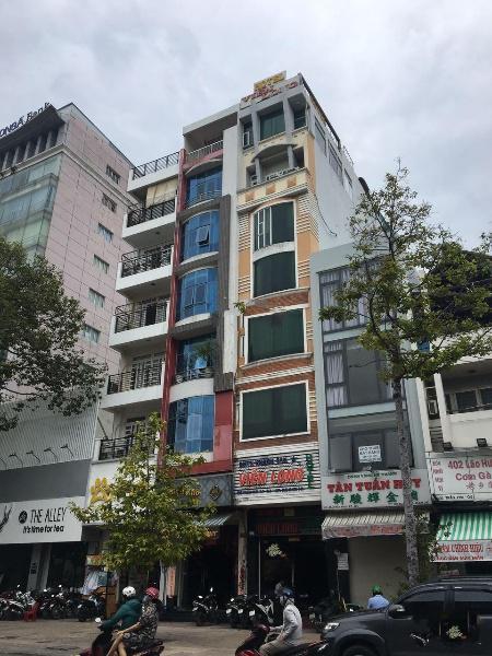 Xuất cảnh bán gấp nhà mặt tiền 7 tầng t.máy Đồng Nai - Cư Xá Bắc Hải, Quận 10, 4x25 100m2 giá 25 tỷ