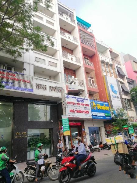 Bán nhà giá rẻ mặt tiền Thành Thái, Quận 10 gần bệnh viện, 6lầu, 90m2 chỉ 24tỷ