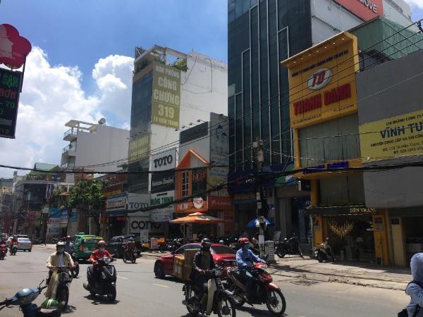 Bán nhà mặt tiền chính chủ Tô Hiến Thành, Q.10 gần siêu thị có 6lầu, 89m2 giá 24tỷ