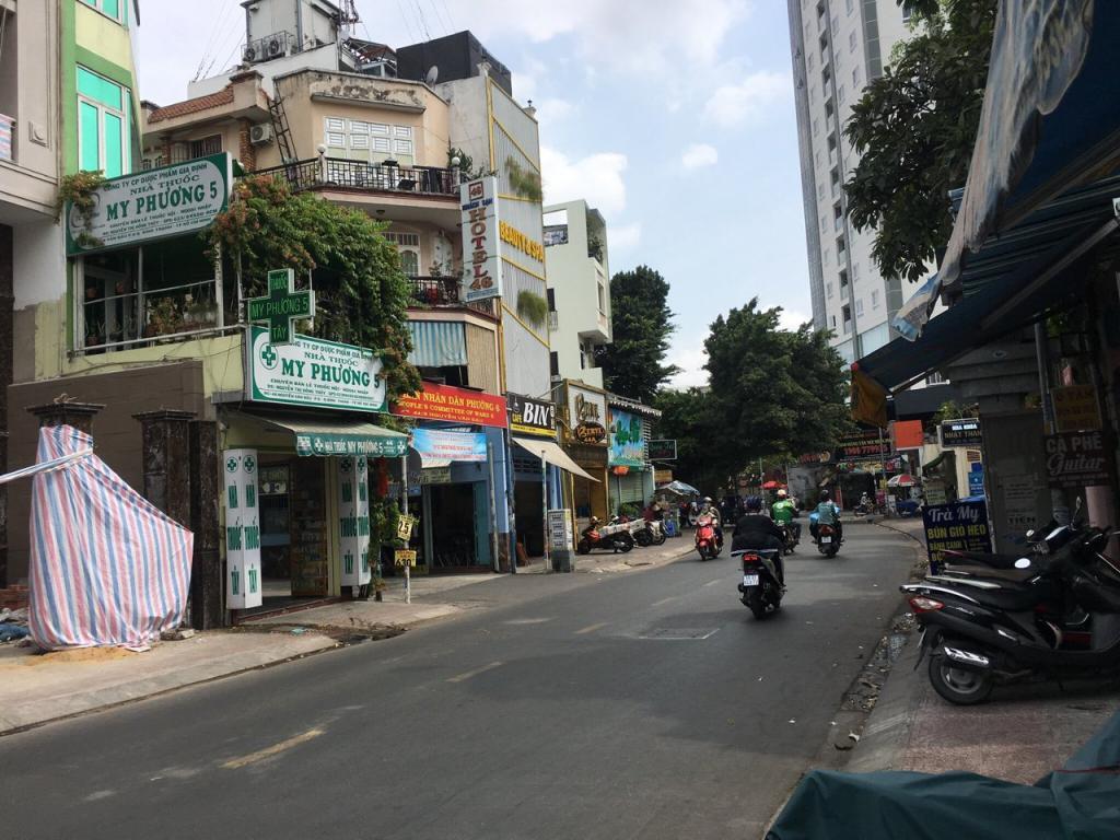 Nhà chính chủ giá rẻ mặt tiền Nguyễn Văn Đậu, Bình Thạnh. 4tầng. DT: 4.5x22. Giá 23tỷ
