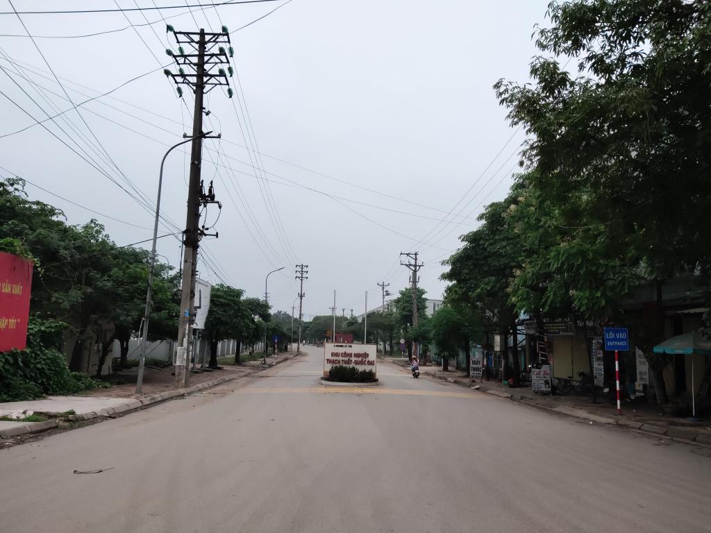 Cho thuê 1000m2 1700m2 3000m2 5000m2 kho nhà xưởng tại KCN Thach Thất, Quốc Oai, Hà Nội.