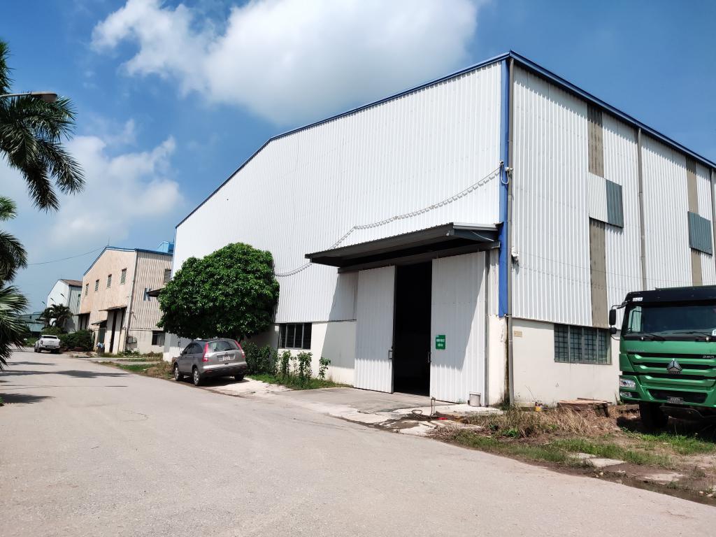 Cho thuê kho xưởng DT 1000m2 1500m2 3000m2, tại KCN Duyên Thái, Thường Tín, HN. LH 0968530776