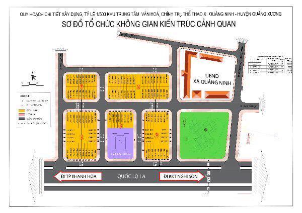 Báo giá đất nền KĐT Quảng Ninh Resideent Area quảng xương thanh hóa