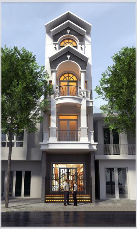 Những mẫu thiết kế nhà phố đẹp để khởi công năm 2021